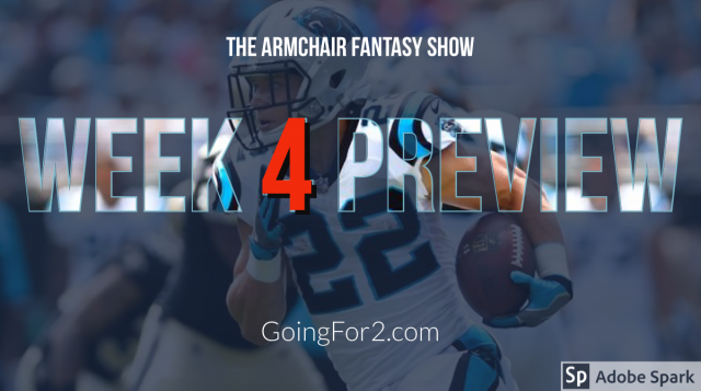Armchair Fantasy Show Ep 106: Week 5 Preview w/ The Fantasy Typhoon (@jesusprotectme)