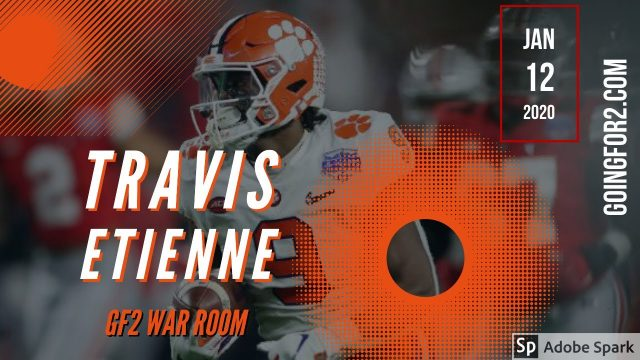 GF War Room: Travis Etienne #DynastyFF
