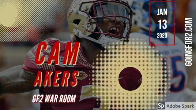 GF2 War Room: Cam Akers #DynastyFF