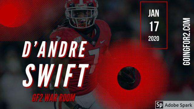GF2 War Room: D'Andre Swift
